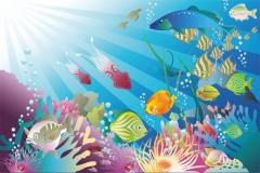 """Фотошпалери """"Підводний світ"""" (#40080)"""