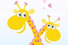 """Фотошпалери """"Жирафи"""" (#40092)"""