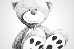 "Фотошпалери ""Ведмедик Teddy"" (#40098)"