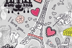 """Фотошпалери """"Елементи Парижу"""" (#40130)"""