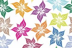 """Фотошпалери """"Кольорові квіти"""" (#40131)"""