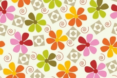 """Фотошпалери """"Кольорові квіти"""" (#40132)"""