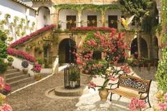 """Фотошпалери """"Будинок з квітами"""" (#50016)"""