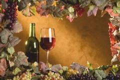 """Фотошпалери """"Червоне вино"""" (#60008)"""