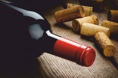 """Фотошпалери """"Пляшка вина"""" (#60009)"""