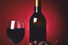 """Фотошпалери """"Червоне вино"""" (#600106)"""