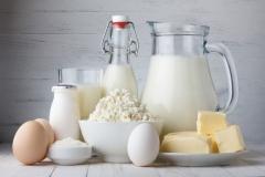 """Фотошпалери """"Молочні продукти і яйця"""" (#600117)"""