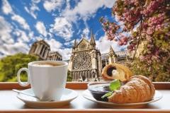 """Фотошпалери """"Французський сніданок"""" (#600119)"""