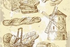 """Фотошпалери """"Хліб і млин"""" (#600130)"""