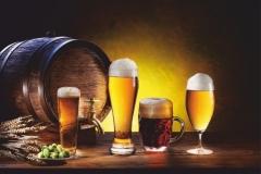"Фотошпалери ""Келихи пива"" (#60021)"