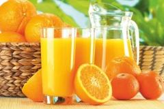 """Фотошпалери """"Апельсиновий сік"""" (#60022)"""