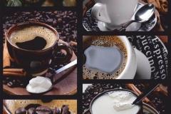 """Фотошпалери """"Колаж кава"""" (#60055)"""