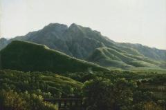 """Фотошпалери """"Жан Жозеф Ксавьє, гірський пейзаж"""" (#80018)"""