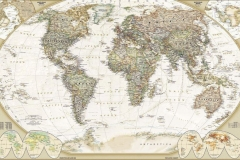 """Фотошпалери """"Карта світу"""" (#90002)"""
