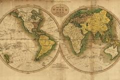 """Фотошпалери """"Карта світу"""" (#90004)"""