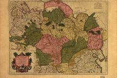 """Фотошпалери """"Карта Сибіру 19 століття"""" (#90006)"""