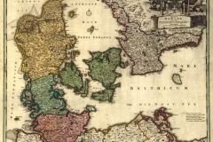 "Фотошпалери ""Старовинна скандинавська карта"" (#90018)"