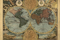 """Фотошпалери """"Старовинна карта світу"""" (#90021)"""
