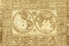 """Фотошпалери """"Старовинна карта світу"""" (#90024)"""