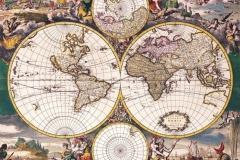"""Фотошпалери """"Старовинна карта світу"""" (#90026)"""