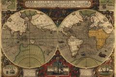 """Фотошпалери """"Карта світу 1000 року"""" (#90029)"""