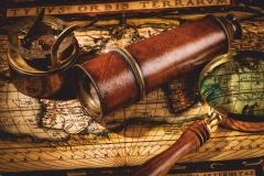 """Фотошпалери """"Старовинна карта світу"""" (#90030)"""
