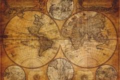 """Фотошпалери """"Старовинна карта світу"""" (#90034)"""