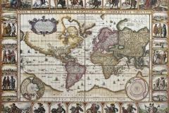 """Фотошпалери """"Етапи формування політичної карти світу"""" (#90042)"""
