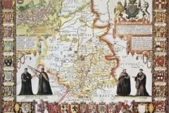 """Фотошпалери """"Старі карти повіту Кембриджшир"""" (#90043)"""