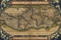 """Фотошпалери """"Карта світу 14 століття"""" (#90044)"""