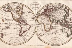 """Фотошпалери """"Старовинна карта світу"""" (#90045)"""
