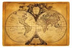 """Фотошпалери """"Старовинна карта світу"""" (#90046)"""