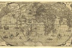 """Фотошпалери """"Карта світу 16 століття"""" (#90054)"""