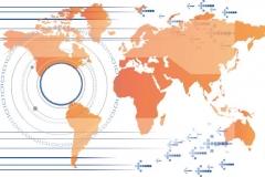 """Фотошпалери """"Карта світу"""" (#90058)"""